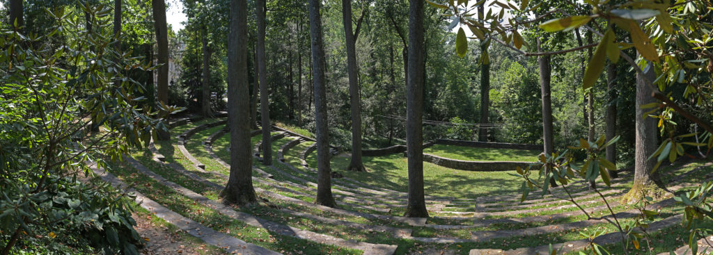 The Forest Amphitheater is host to all kinds of events, both magical and mundane.